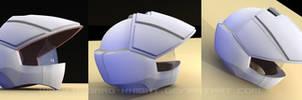 macross pilot helmet 3D by asgard-knight