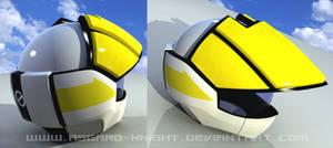 ROY FOKKER Helmet 3d by asgard-knight