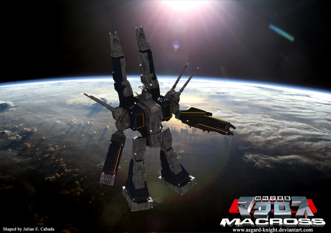 Sdf 1 macross live action by asgard knight on deviantart - Wallpapers robotech 3d ...