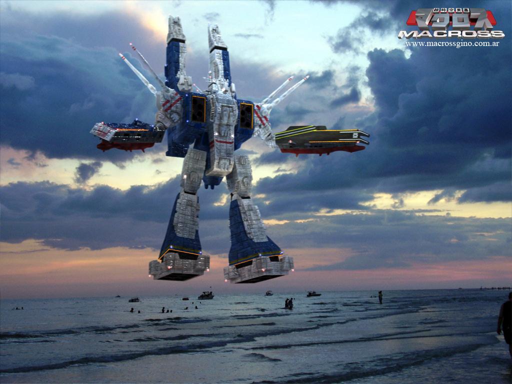 Sdf 1 v ray version by asgard knight on deviantart - Wallpapers robotech 3d ...