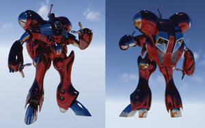 Miriya Chromed Suit by asgard-knight
