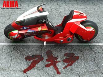 AKIRA - Bike wallpaper by asgard-knight