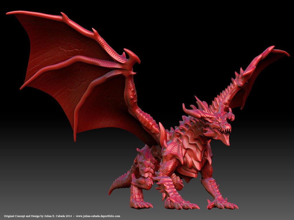 crimson dragon wallpaper - photo #22