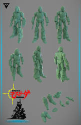 Mospeada Soldier On Sale