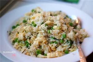 Golden Egg Fried Rice by emilythestranger