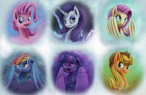 All six by InsaneRoboCat