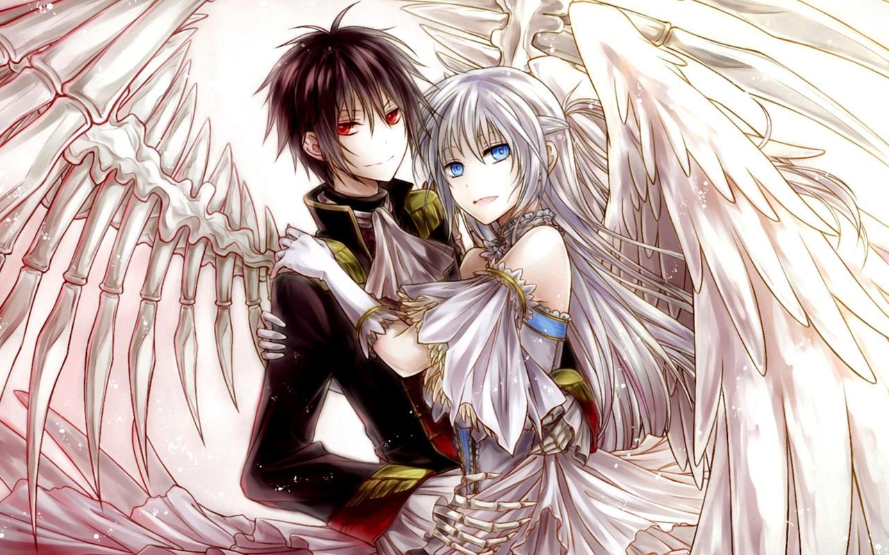 Angel And Demon Love by IshimaruHiro on DeviantArt