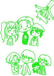 Persona 4 Sketchies