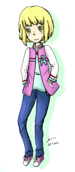 Letterman jacket Armin!