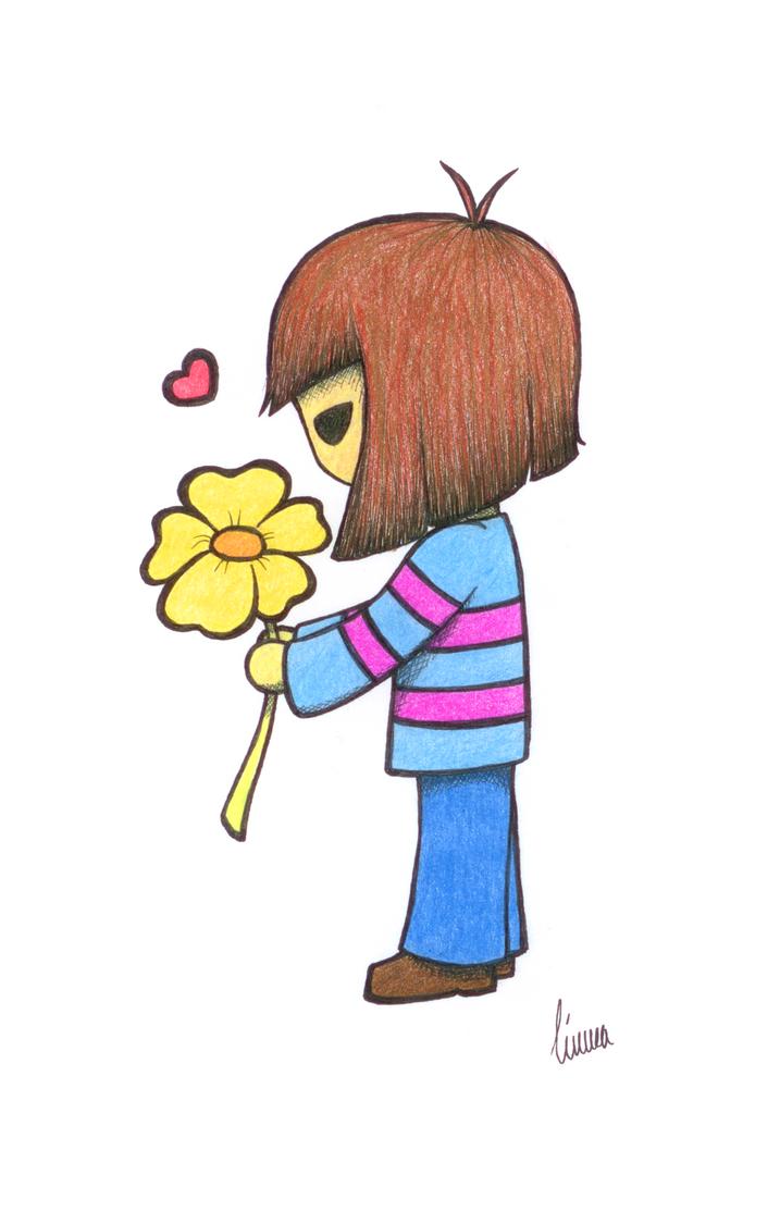 Flower Frisk by FallenTwin