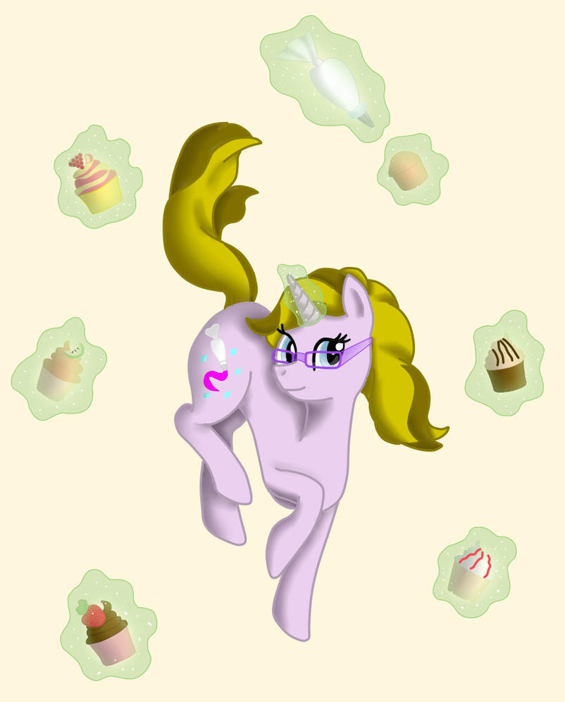 Sparkle Frosting's special talent by Glitter-Stitch