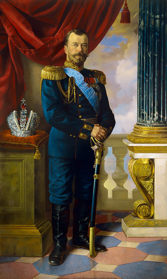 Emperor Nikolai II by nikolaishurygin