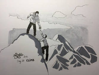 Inktober 2017 - Day 27 - CLIMB by Danao