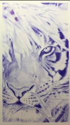 Ballpoint pen - Tiger by Danao