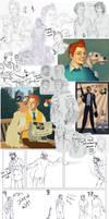 Adventures of Tintin Art Dump
