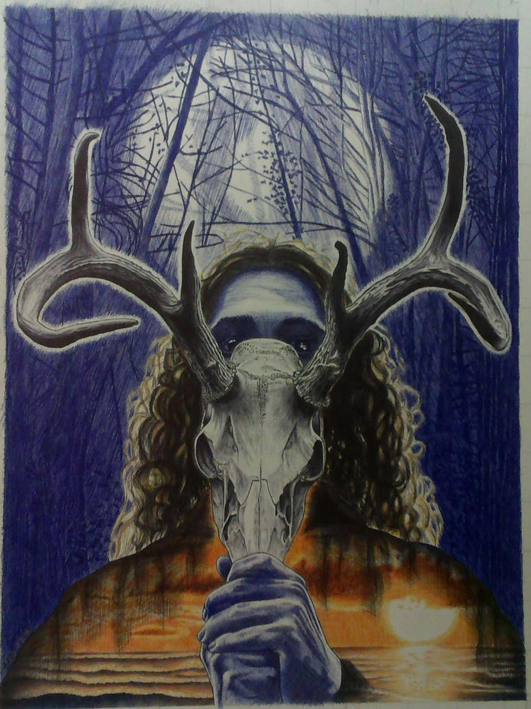 The Horned God by seanthomasg