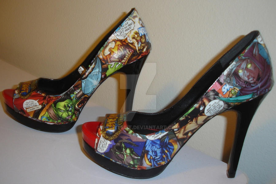 World of Warcraft heels by iheart8bit