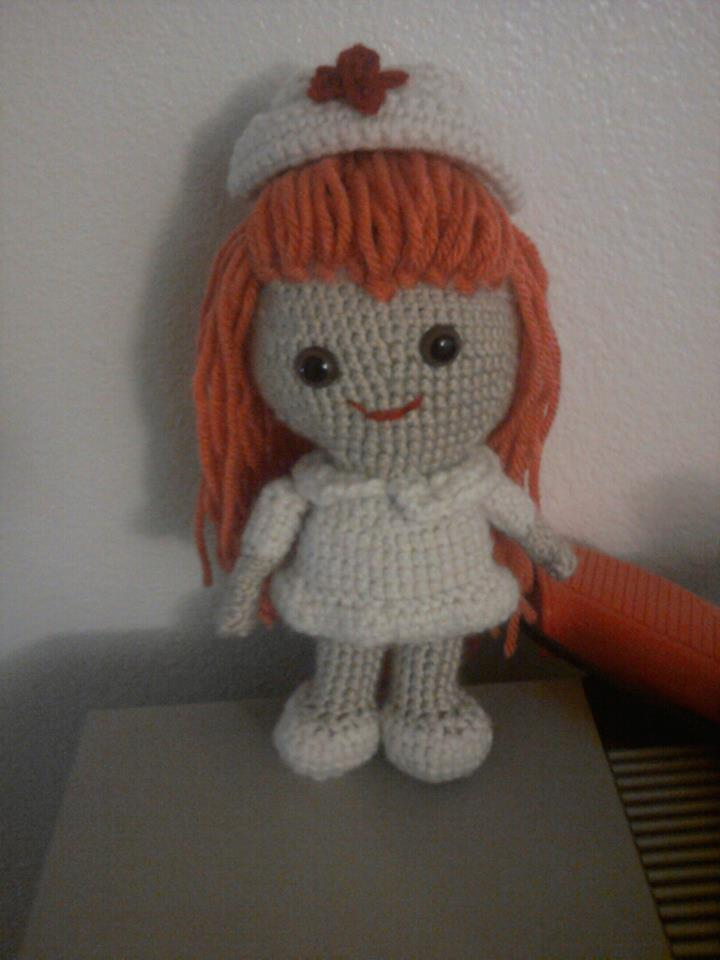 Amigurumi Nurse Pattern : Amigurumi Nurse by iheart8bit on DeviantArt
