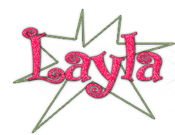 Texto PNG Layla by AngelEditions