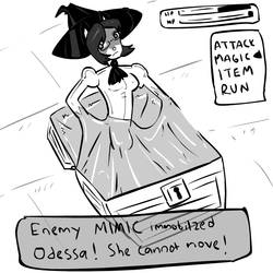 Odessa vs Mimic by parangsakti