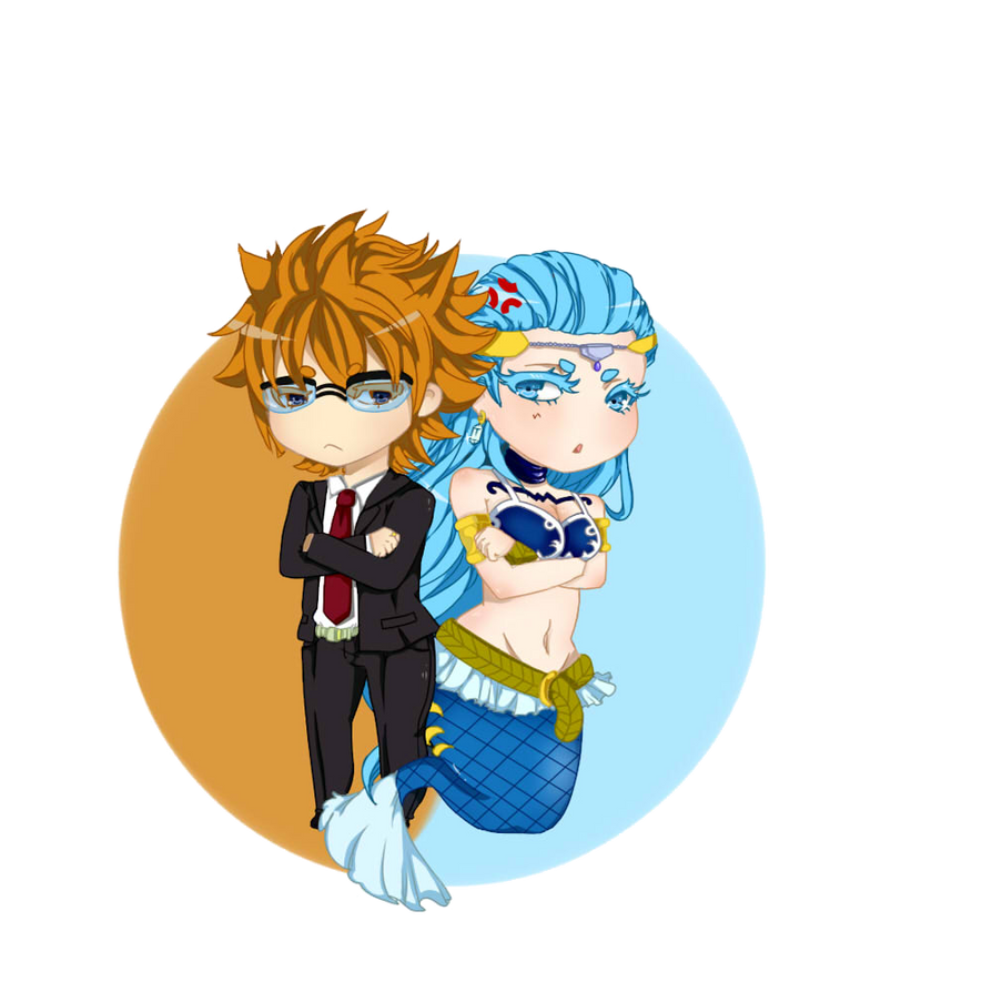 Fairy Tail: Chibi Leo and Aquarius by CaptainNaners on ...