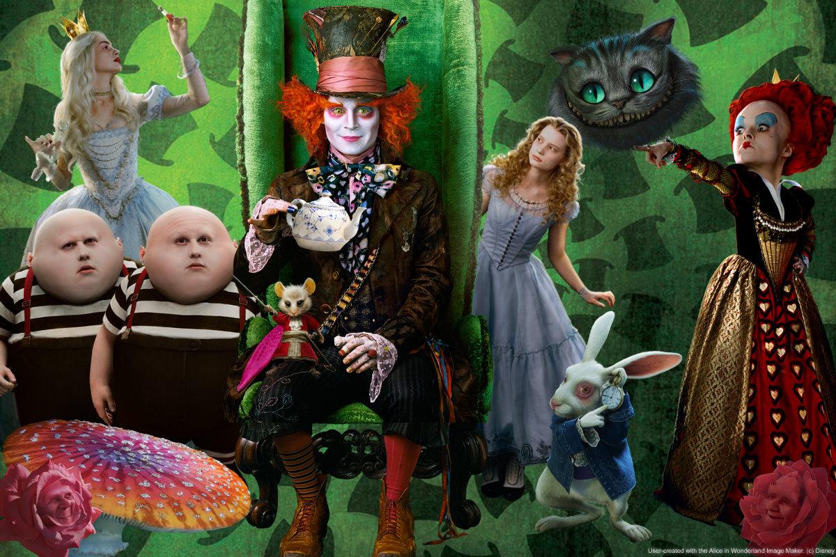 Alice in wonderland wallpaper by thepiratehobbit on deviantart - Free wallpaper alice in wonderland ...