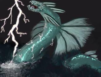 Water dragon Onirke by Onirke