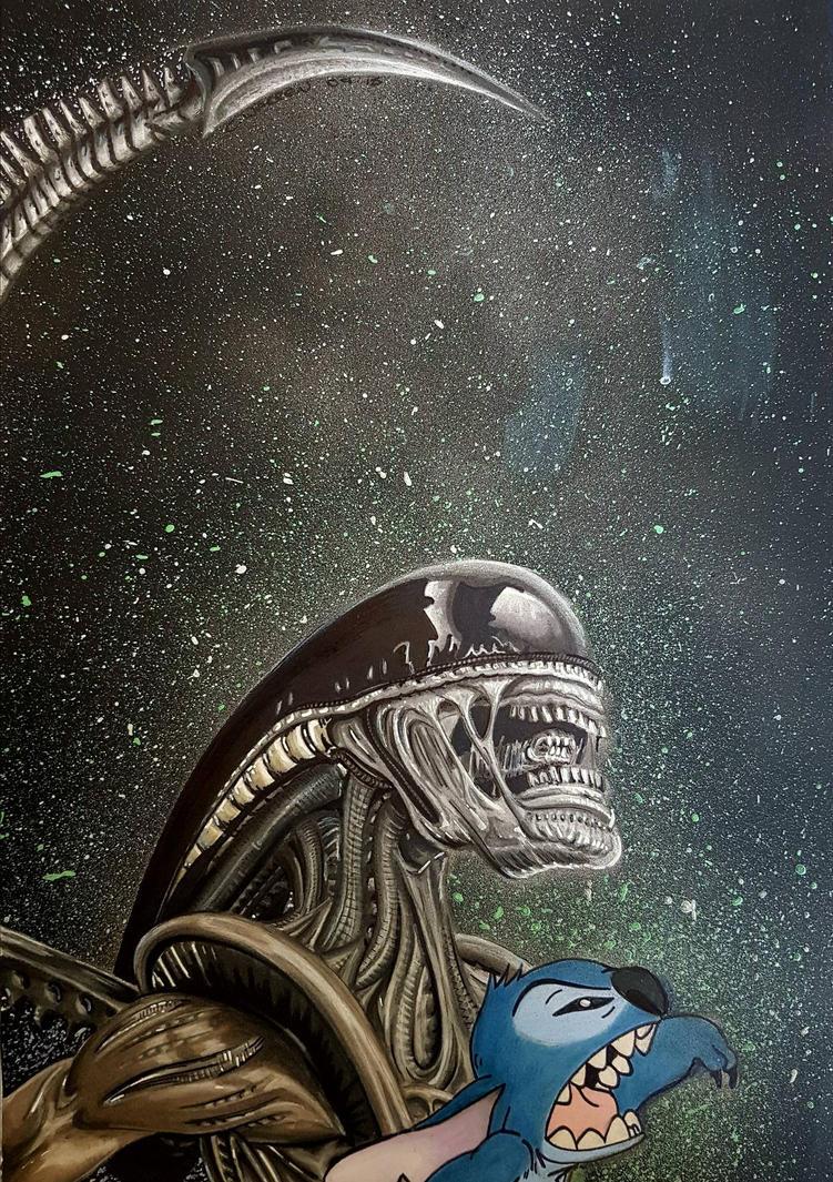 aliens by Chri8