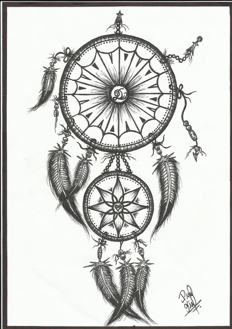 Dream Drawing Dream Catcher Drawings Tumblr