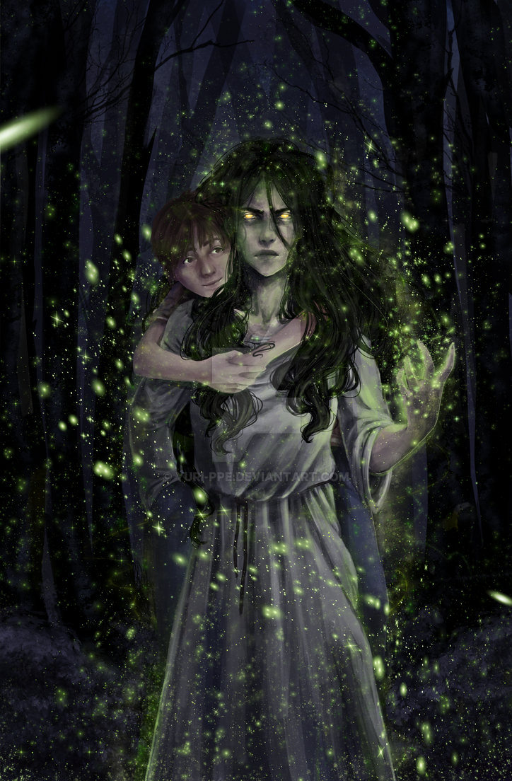 Commission - 'The Firefly Woman' by Yuri-ppe