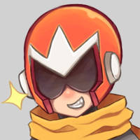 Protoman profile picture commission