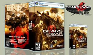 Gears of War SCE Boxart by reytime