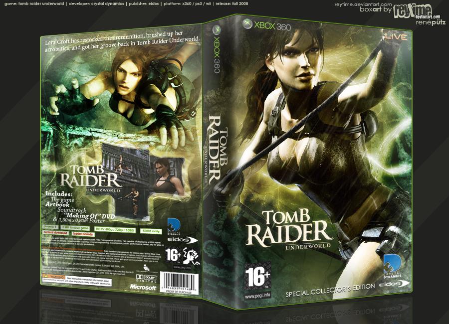 Tomb Raider Underworld SCE by reytime