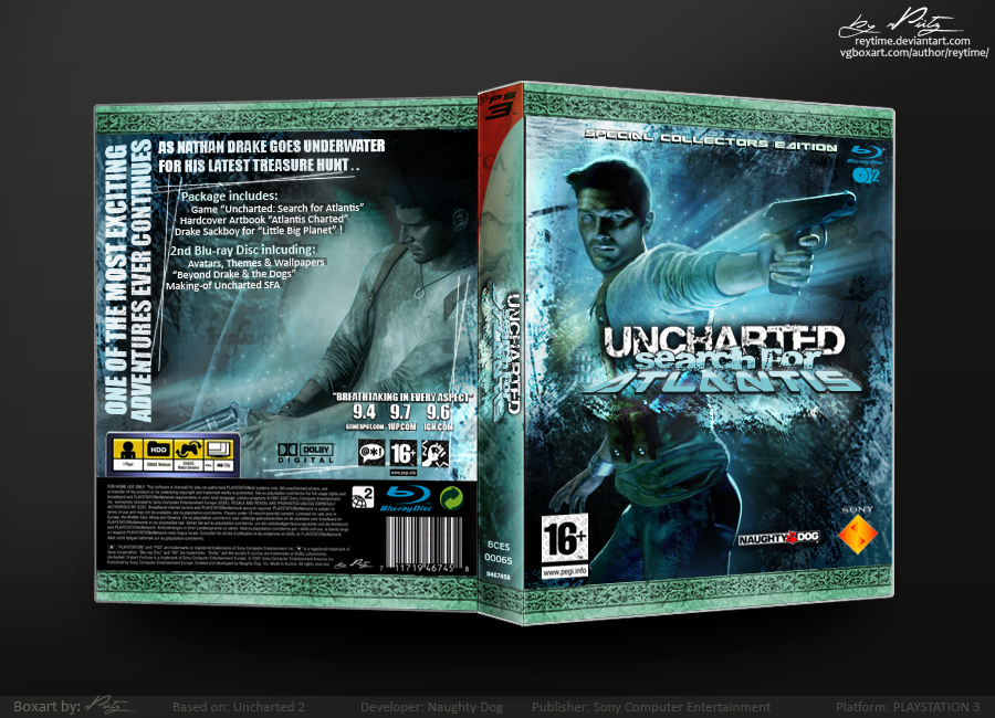 Uncharted 2 Boxart By Reytime On Deviantart