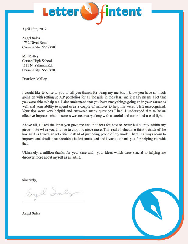 Letter Of Intent Template By Letterofintent On DeviantArt