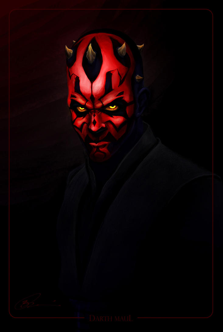 Lord Maul by MetGod