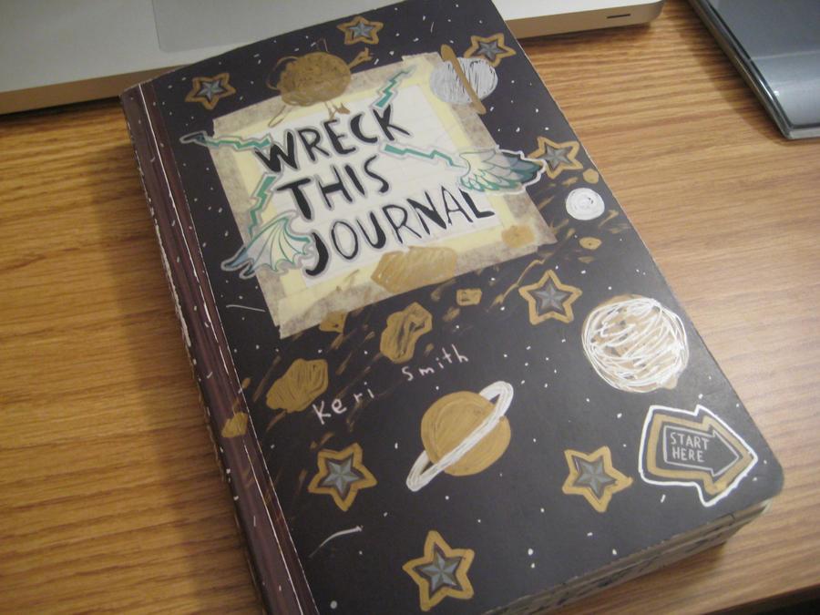 Wreck This Journal Cover Wreck This Journal - Cover by