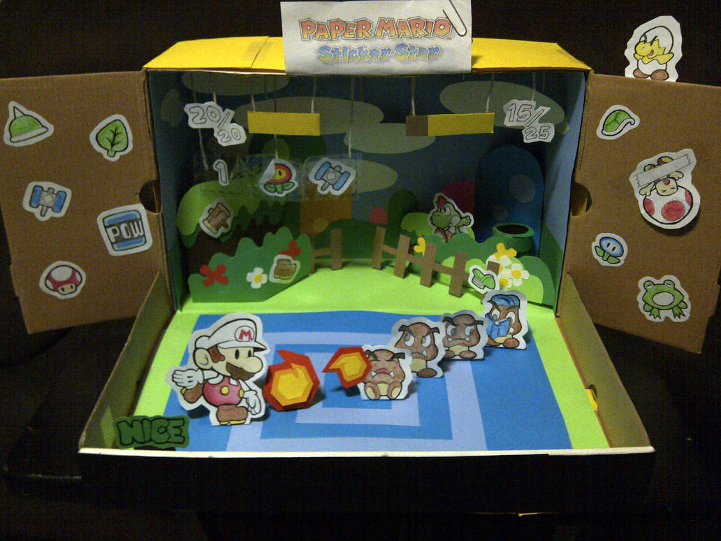 help with paper mario sticker star And now the same can be said of paper mario: sticker star, a game with a  combat system built around collecting and disposing of wonderful,.