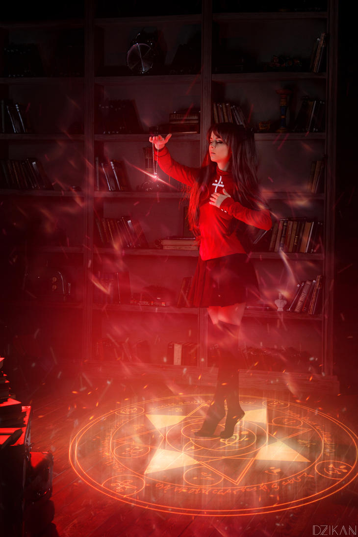 Fate/Stay Night | Tohsaka Rin Cosplay by Dzikan