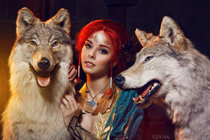 The Witcher 3 | Triss Merigold cosplay by Dzikan