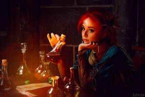 The Witcher | Triss Merigold cosplay