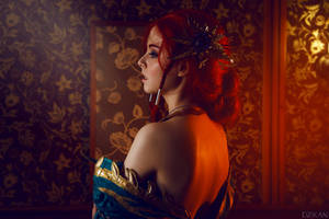 The Witcher 3  Triss Merigold cosplay