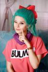 Dragonball - Bulma cosplay