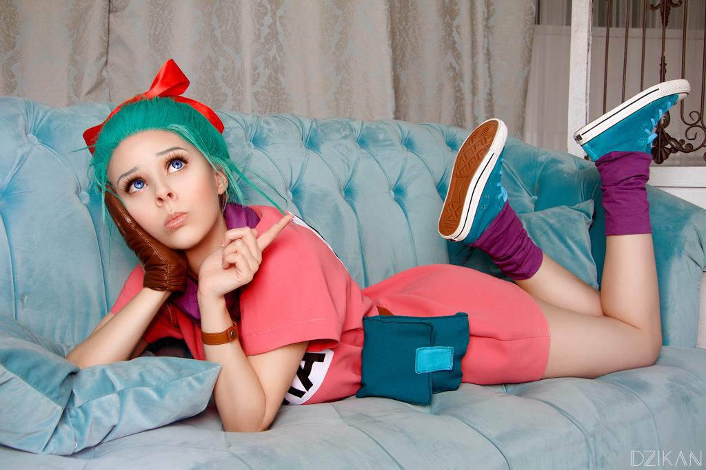 Dragon Ball - Bulma cosplay by Dzikan