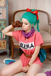Dragon Ball - Bulma cosplay