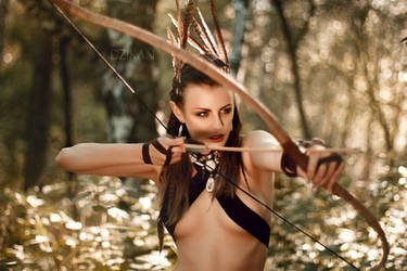Dryad   The Witcher original cosplay