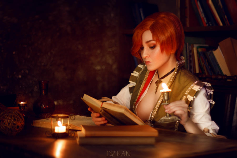 Shani erotic cosplay photo | Witcher 3 [Dzikan]