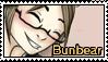 Friend Stamp - Bunbear by MelonFoxJozei