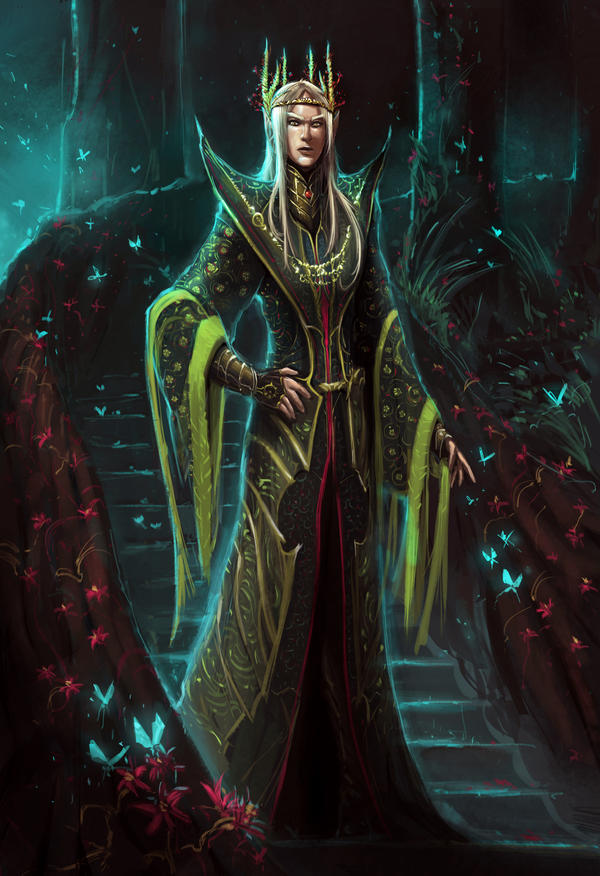 Thranduil, the Elvenking