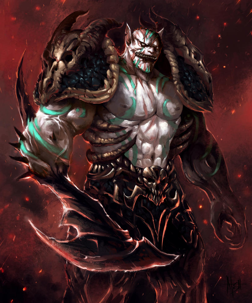 Azog the Defiler by MoshYong